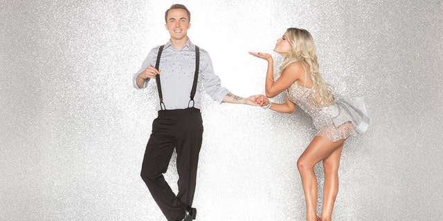 """Frankie Muniz (left) with his """"Dancing with the Stars"""" partner Witney Carson."""