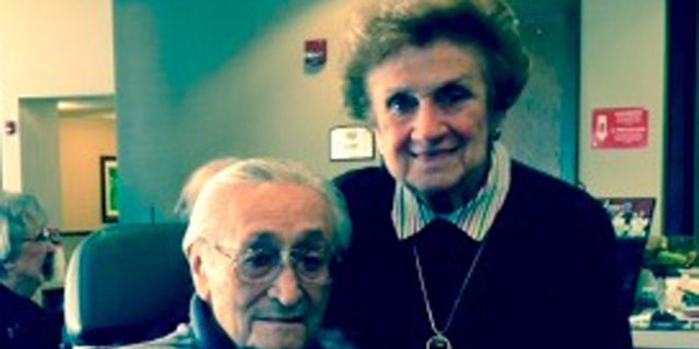 Shown here are Stanley Friedman and his wife, Minna Rae.