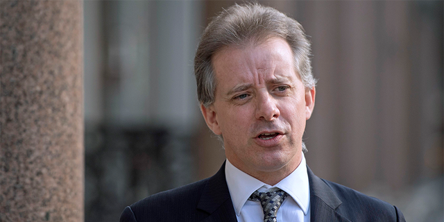 Steele, a former British spy, compiled the dossier for Simpson's company