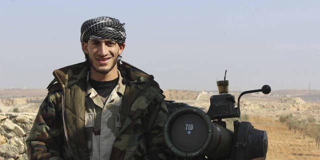 Suheil Alhamoud, now 30, was trained by the U.S and allied countries as part of the CIA's clandestine effort to arm Syrian rebels against the Assad regime in 2014.
