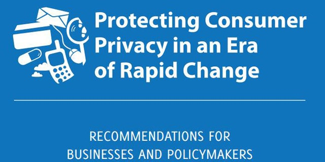 """March 26, 2012: The cover of a new FTC report urging fresh regulations to ensure consumer privacy online, including the creation of a """"Do Not Track"""" registry for the advertising industry."""