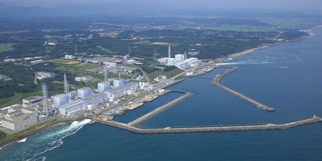The Fukushima Daiichi Nuclear Power Plant in Japan.