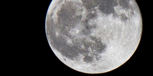 """A full moon, nicknamed the """"worm moon,"""" graced the night's sky earlier this month."""