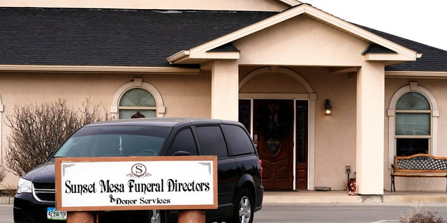 Colorado officials issued an order Monday forcing Sunset Mesa Funeral Directors to close its doors indefinitely.