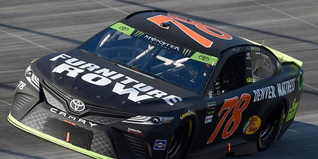 Truex drove a Furniture Row-sponsored car to the title in 2017.