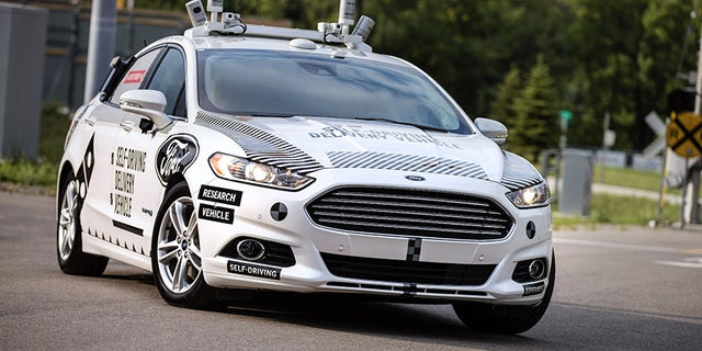 Ford is using its Fusion Hybrid sedan to test the autonomous technology it plans to put into production by 2021.