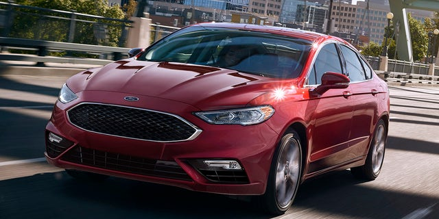 The Fusion is Ford's best-selling sedan.