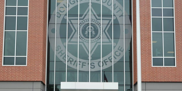 A Douglas County sheriff's deputy was stabbed in the building's bathroom Tuesday.
