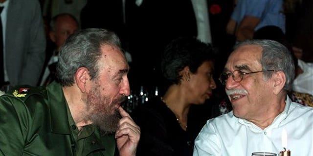 Gabriel Garcia Marquez and Fidel Castro.
