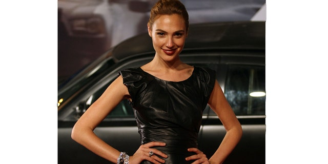 "Actress Gal Gadot poses at the world premiere of ""Fast Five"" at the Cinepolis Lagoon theatre in Rio de Janeiro April 15, 2011."