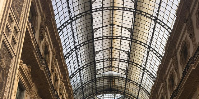 The Galleria houses several high-end shops, and is located just steps from the Duomo and the Galleria d'Italia Piazza Scala.