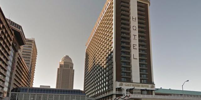 The Galt House Hotel in Louisville.