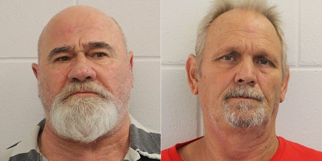 Frankie Gebhardt, left, and Bill Moore Sr. are accused of killing Timothy Coggins