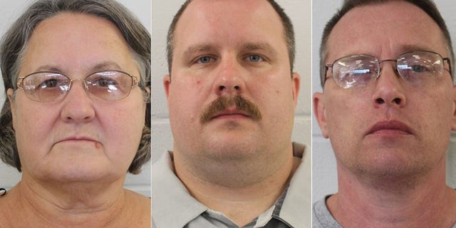 Sandra Bunn, Lamar Bunn and Gregory Huffman are charged with lesser offenses