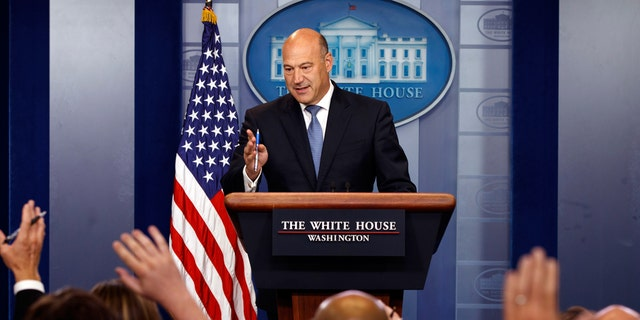 Former Chief Economic Adviser to President Trump Gary Cohn resigned earlier this month.
