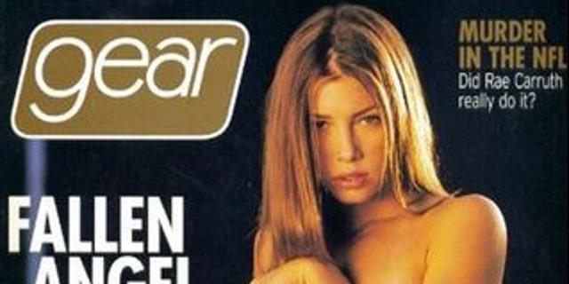 gear Jessica magazine topless biel