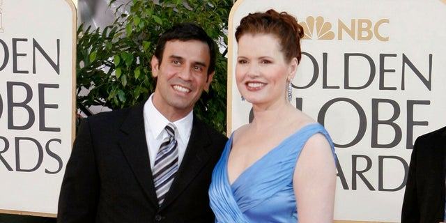 Geena Davis and Reza Jarrahy married on Sept. 1, 2001 and have three children together.