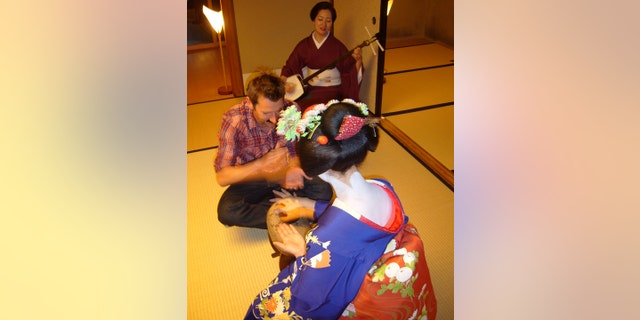 An experience with a maiko.