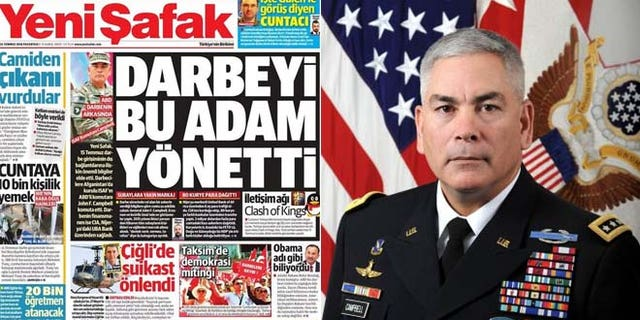 Blaming Gen. Campbell for the failed coup takes Turkey's anti-American rhetoric to a dangerous new level, say experts.