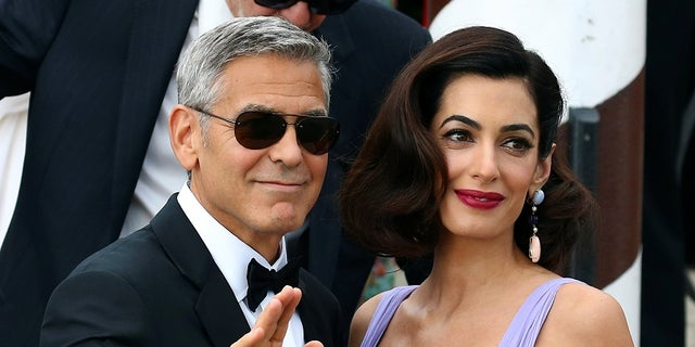 Actor and director George Clooneysays his wife, Amal, has forbid him from riding motorcycles ever again.