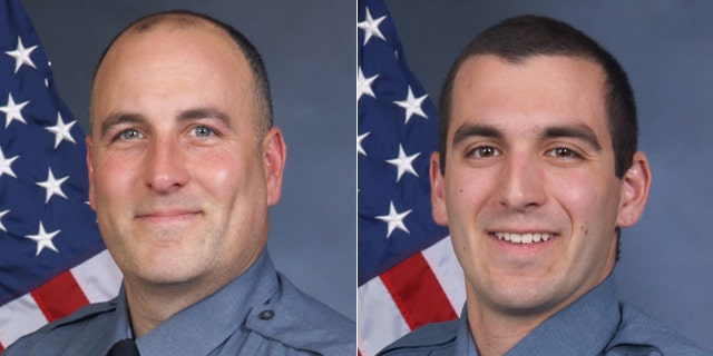 Sgt. Michael Bongiovanni, left, and Master Police Officer Robert McDonald were fired.