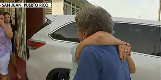 Geraldo Rivera reunited with his family in Puerto Rico after Hurricane Maria struck the island. They face the dilemma shared by millions. There is no power and no running water; the schools are closed and businesses disrupted.
