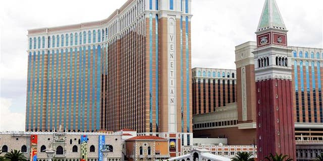 File photo of the Venetian hotel and casino on the Las Vegas Strip.