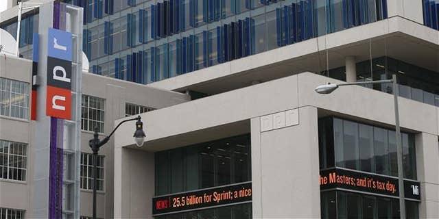 The headquarters for National Public Radio in Washington.