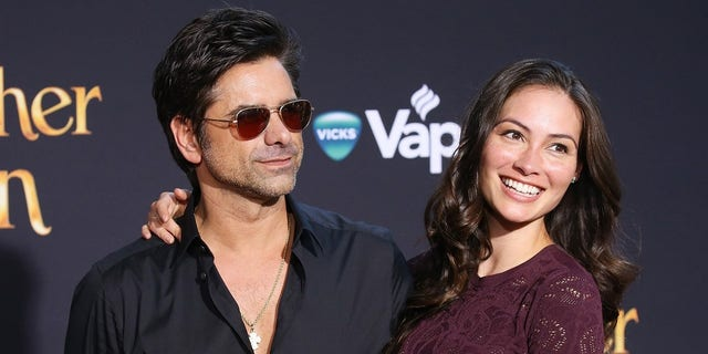John Stamos and Caitlin McHugh married in 2018.