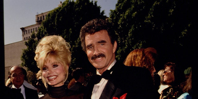 Burt Reynolds and Loni Anderson in 1992.