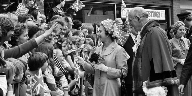Queen Elizabeth began the tradition of walkabouts in the 1970s.