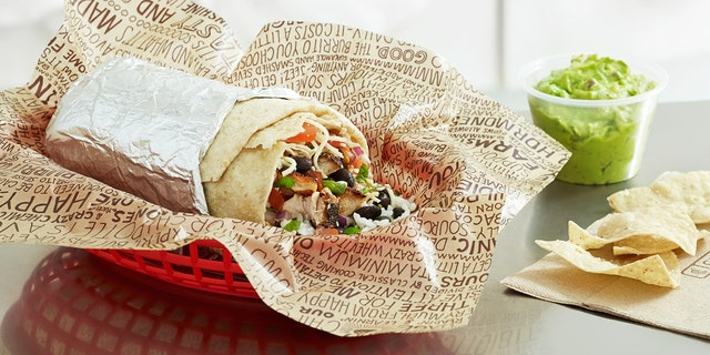 According to GrubHub data, the average order at Chipotle contains 1,070 calories.