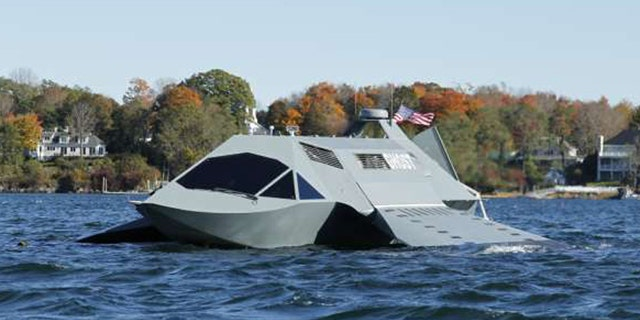 Aug. 30, 2011: A new kind of boat is designed to move fast and stealthily through water by generating a layer of gas around its underwater surfaces.