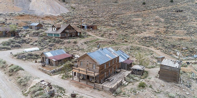 """""""It's really an opportunity for someone to own a real piece of the Wild West and American history,"""" listing agent Jake Rasmuson said."""