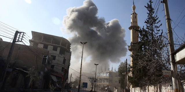 The escalation this week in Eastern Ghouta is being described as the worst point of the Syrian War