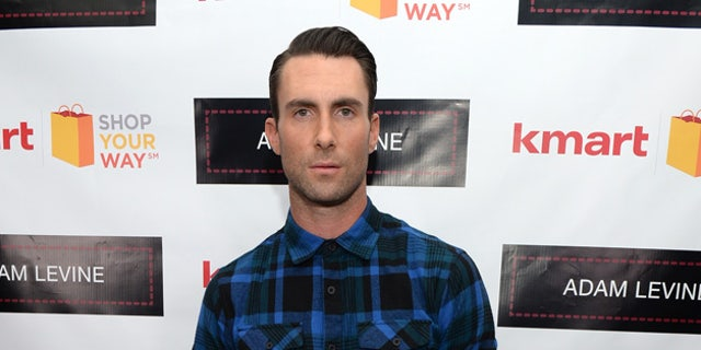 Adam Levine celebrates the launch of his new Men's Collection for Kmart and Shop Your Way on October 24, 2013 in Los Angeles, California.