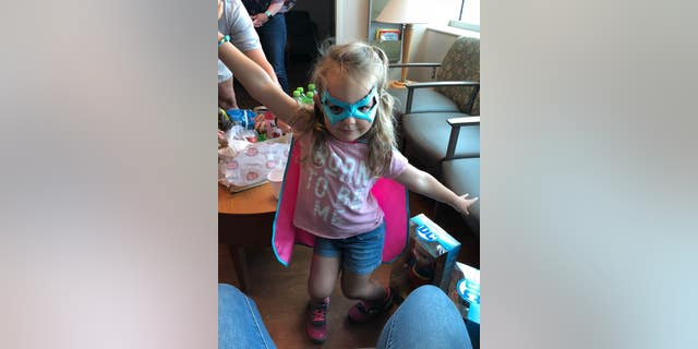 Molly McCabe, 3, used FaceTime to help save her father's life.