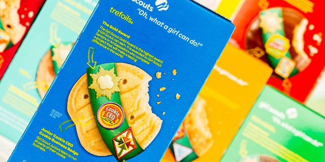 A troop leader named Leah Ann Vick reportedly fled with an enormous shipment of Girl Scout cookies.