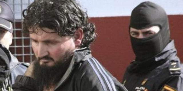 Hamed Abderrahaman Ahmed was nabbed in Africa by Spanish and Morrocan authorities on Feb. 23.