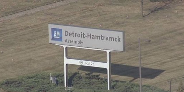 Fire crews responded to an incident at the GM Detroit-Hamtramck assembly plant on Wednesday.