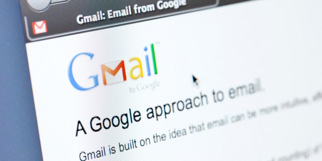 File print - The Google formed mail website seen in a Firefox web browser (iStock)