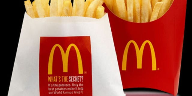 The fast-food giant says it doesn't use genetically modified potatoes.