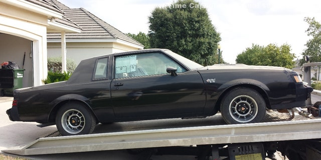 Time capsule 1987 Buick Grand National being auctioned on