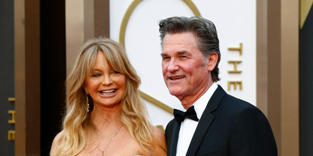 Kurt Russell, right, and Goldie Hawn have dated since 1983 and share a son.