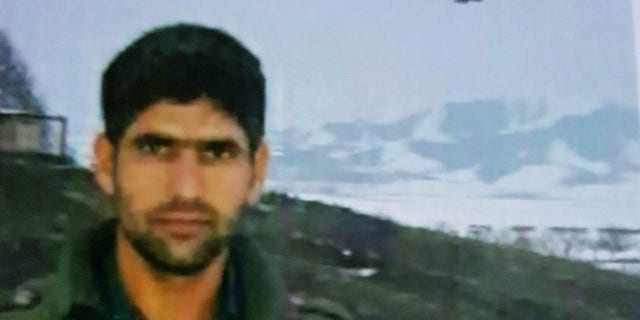 Alireza Gomar, a 31-year-old Iranian man killed in the ongoing protests.