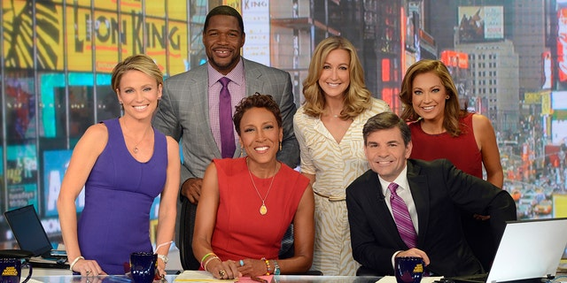 "Robin Roberts, George Stephanopoulos and Michael Strahan are now the only ""GMA"" co-hosts mentioned in the cold open."