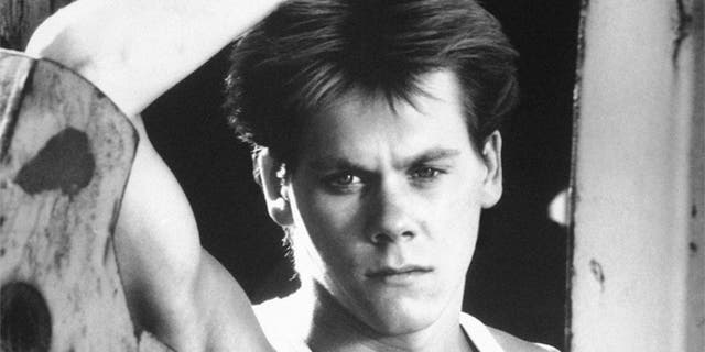 """Kevin Bacon is shown in a scene from the movie """"Footloose."""""""