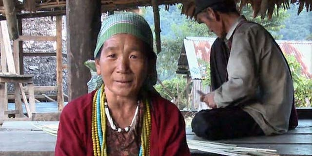 Photograph of Abamu Degio singing in Koro, a language previously unknown to science that was documented in the mountains of northeast India. It is spoken by no more than 4000 people.