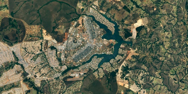 Brasilia, Brazil (Google Earth)