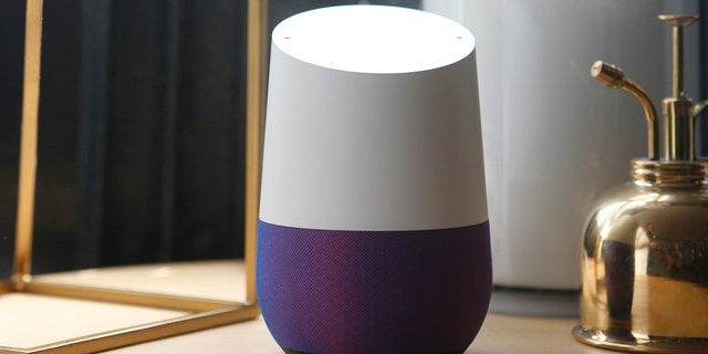 Google Home is displayed during the presentation of new Google hardware in San Francisco, California, U.S. Oct. 4, 2016. (REUTERS/Beck Diefenbach)